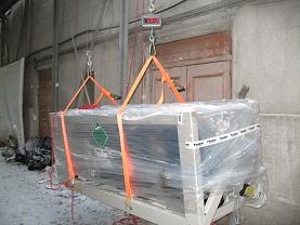 Подъем тяжелых грузов